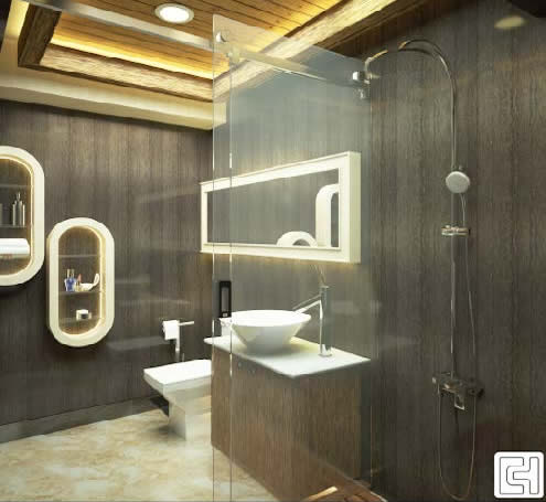 I type clip shower room door